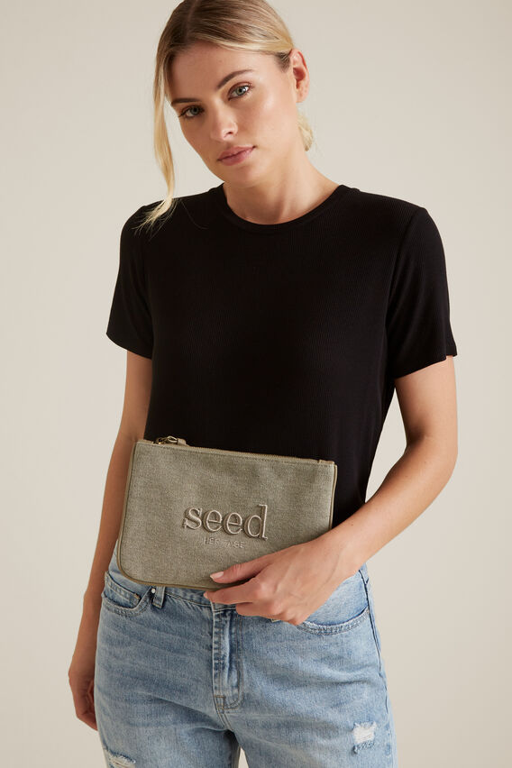 Seed Pouch  SOFT KHAKI  hi-res