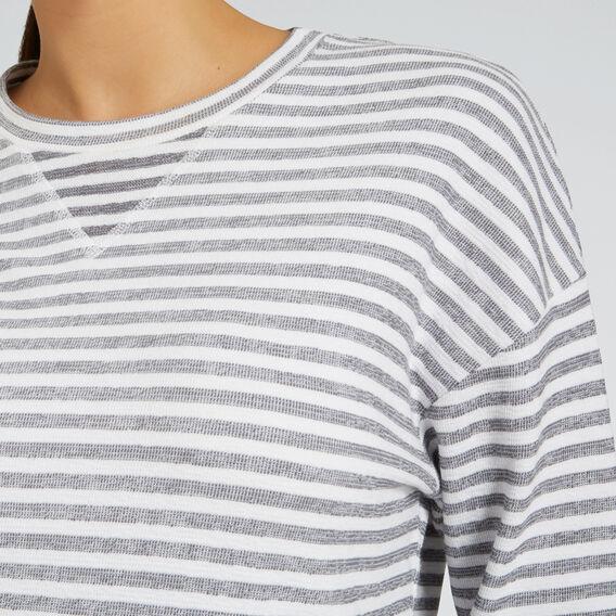 Stripe Sweat  CHARCOAL STRIPE  hi-res