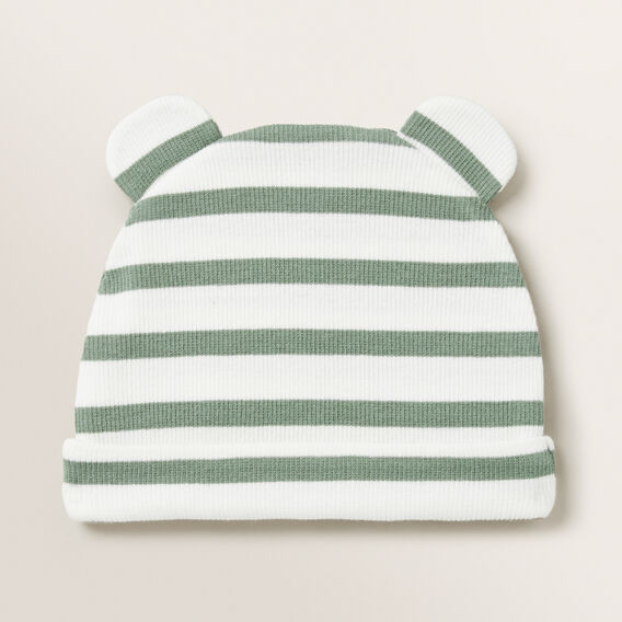 Novelty Stripe Hat  FERN  hi-res