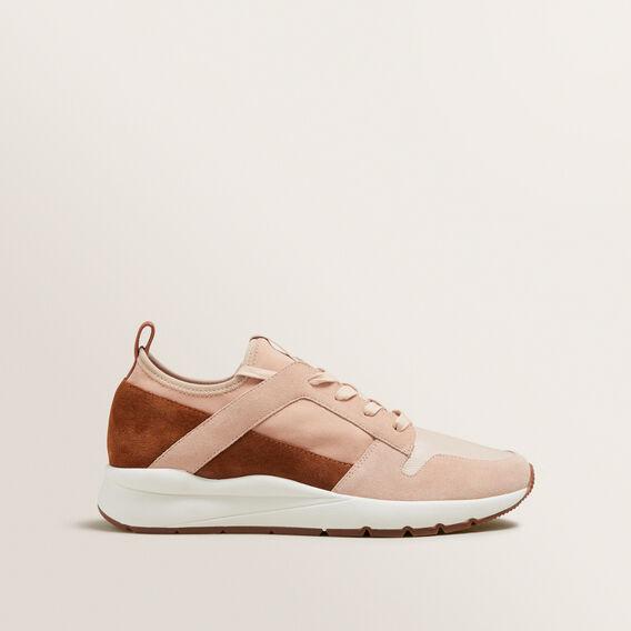 Maria Leather Sneaker  BLUSH  hi-res