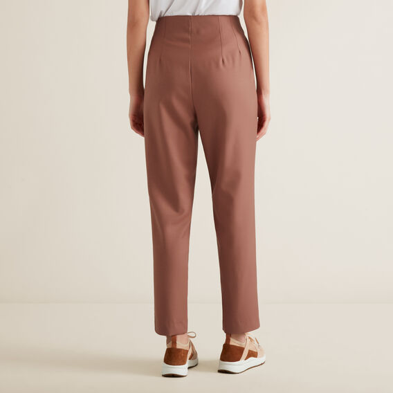 Wool Blend Trouser  WASHED ROSE  hi-res