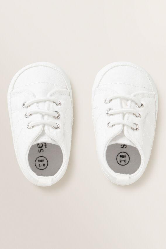 Baby Sneaker  WHITE  hi-res