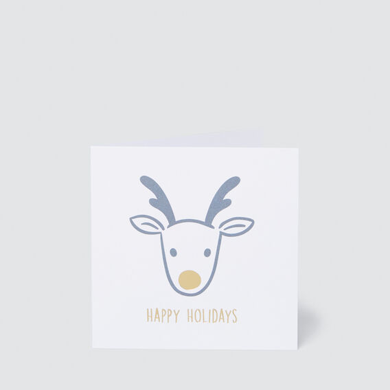 Small Happy Holidays Card  MULTI  hi-res