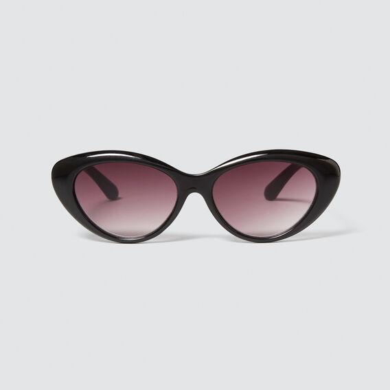 Jane Cats Eye Sunglasses  BLACK  hi-res