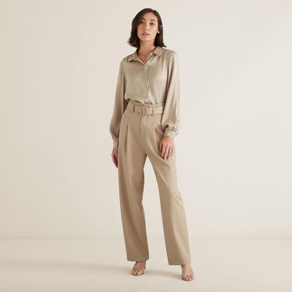 Twill Trouser  NEUTRAL BEIGE  hi-res
