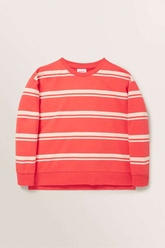 Stripe Windcheater  BERRY  hi-res