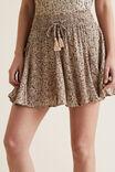 Python Mini Skirt, SNAKE PRINT, hi-res