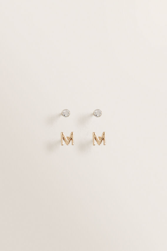 Initial Earring Pack  M  hi-res