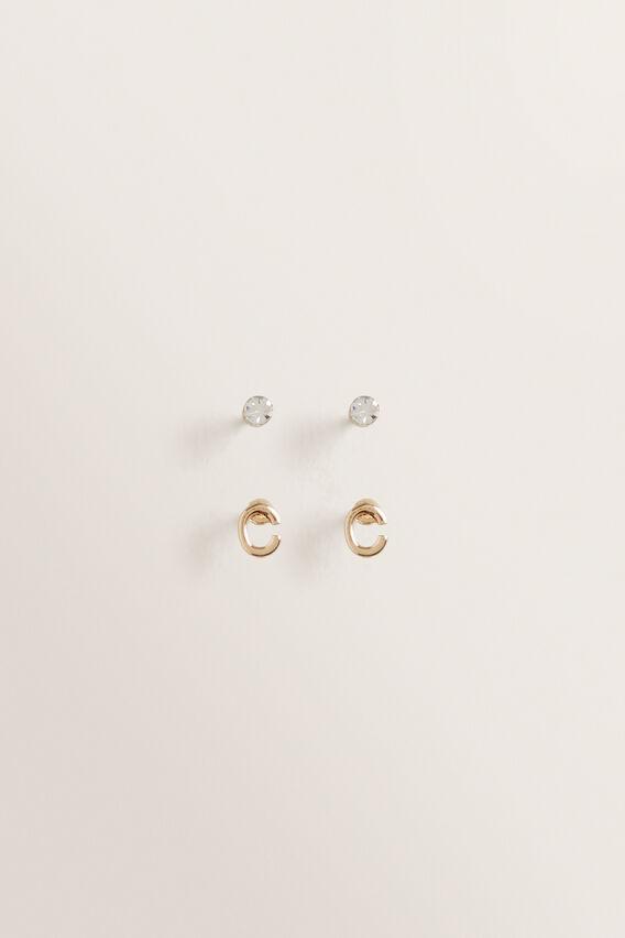 Initial Earring Pack  C  hi-res