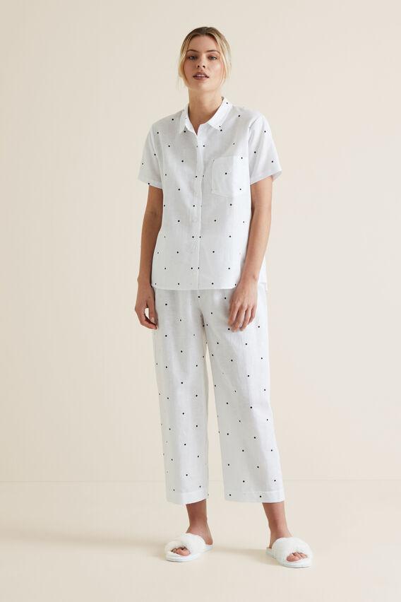 Sleep Short Sleeve Pant Set  SPOT  hi-res