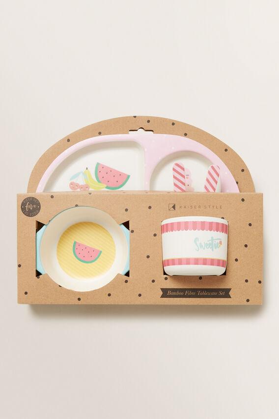 Sweetie Baby Plate Set  MULTI  hi-res