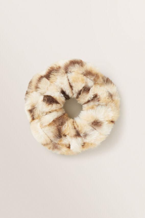 Fluffy Ocelot Scrunchie  OCELOT  hi-res