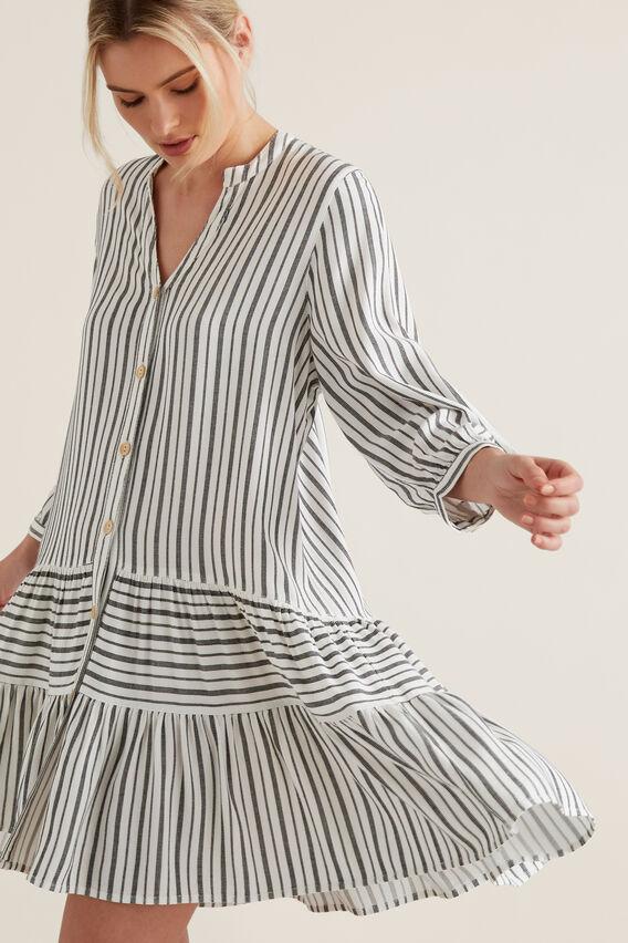 Mini Striped Dress  STRIPE  hi-res