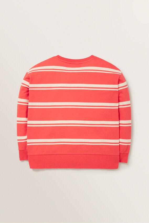 Stripe Windcheater  BERRY  hi-res