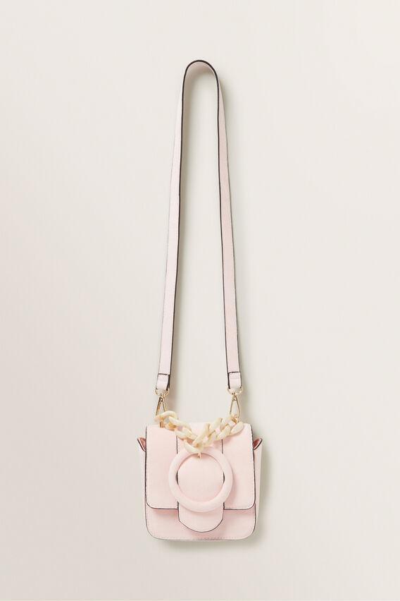 Mini Tort Flap Bag  DUSTY ROSE  hi-res