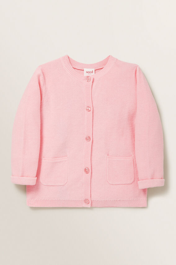 Pearl Stitch Cardigan  BUBBLEGUM  hi-res