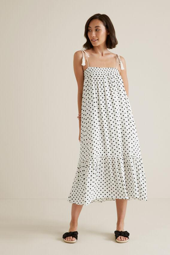 Crinkle Spot Dress  SPOT  hi-res