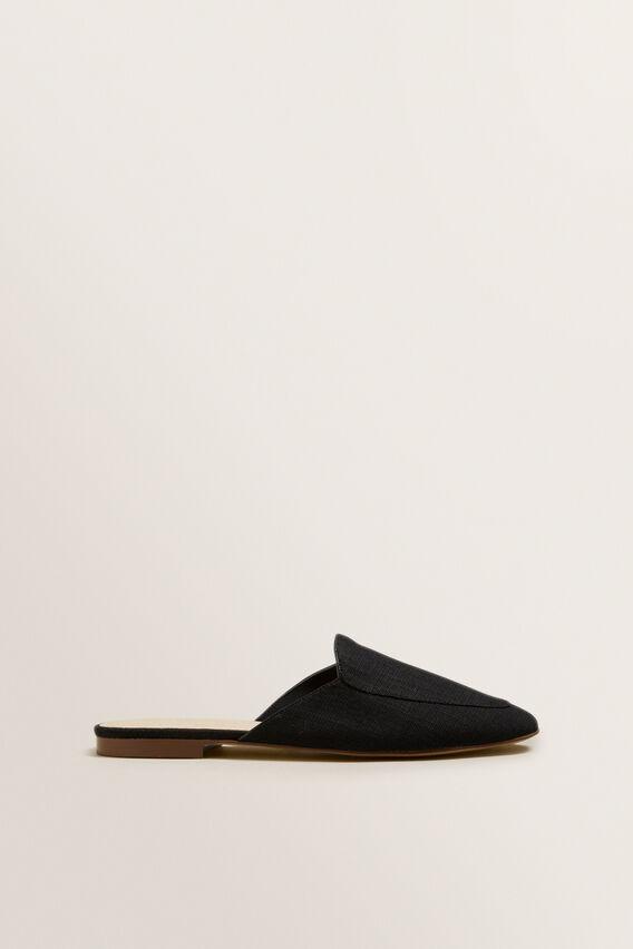 Simple Loafer  BLACK  hi-res