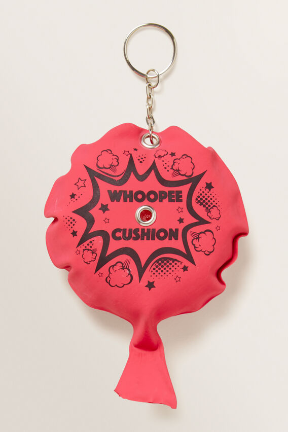 Whoopee Cushion Key Chain  RED  hi-res