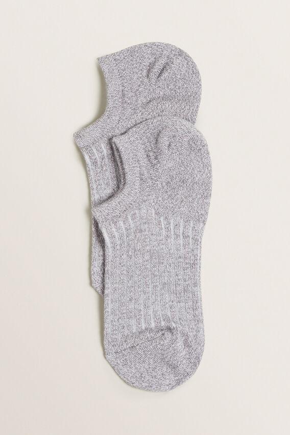 Sneaker Sock  GREY MARLE  hi-res