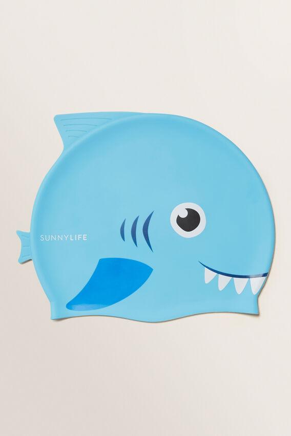 Swimming Cap 3-9 Shark  MULTI  hi-res
