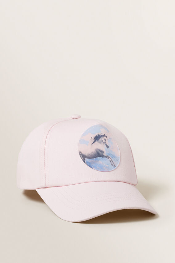 Holographic Cap  ICE PINK  hi-res