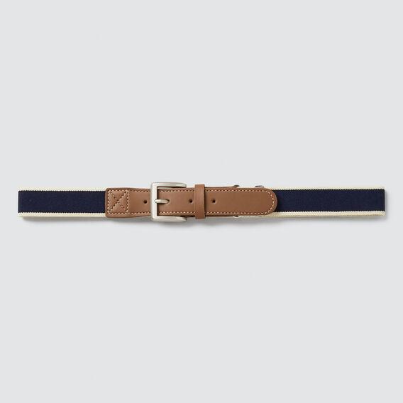 Elastic Belt  NAVY  hi-res