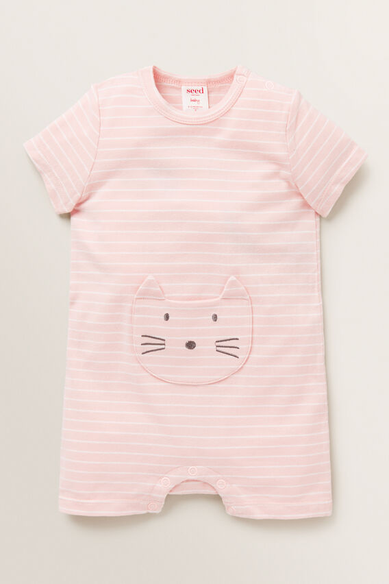 Cat Pocket Jumpsuit  PRETTY PINK  hi-res