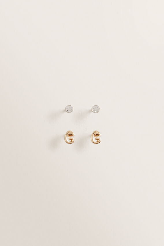 Initial Earring Pack  G  hi-res