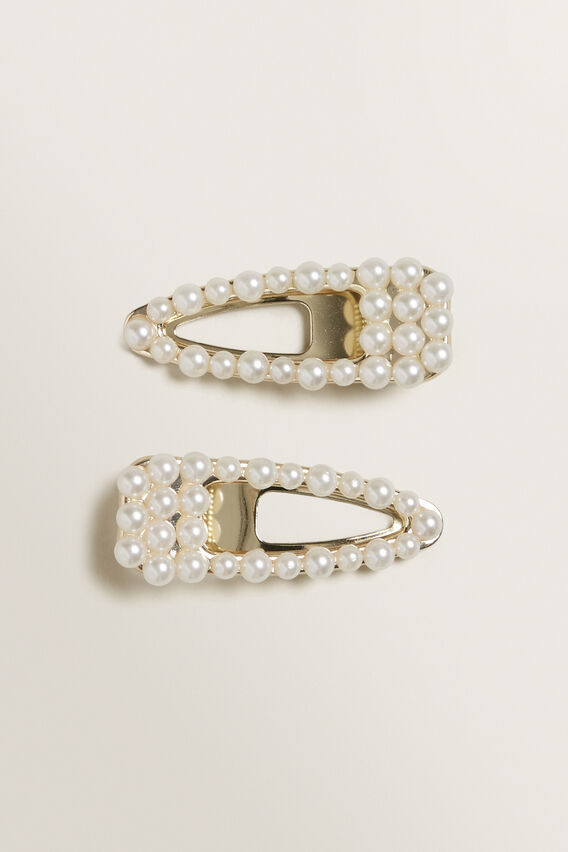 Double Pearl Clip Pack  PEARL  hi-res
