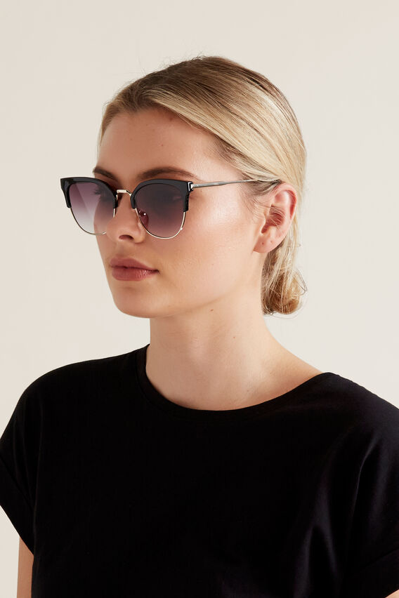Minnie Metal Sunglasses  BLACK  hi-res