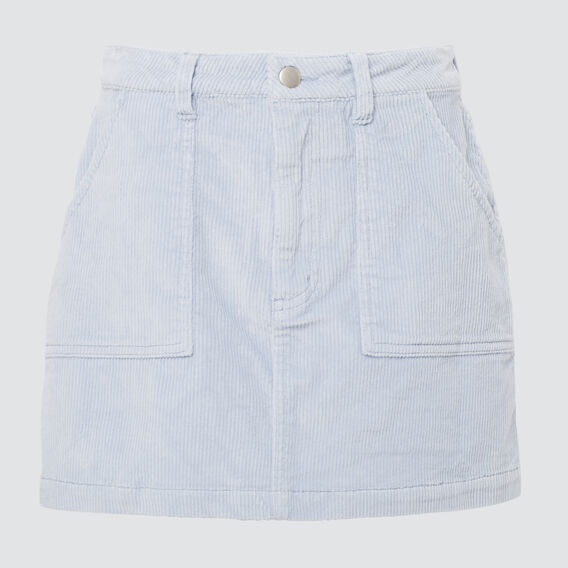 Cord Skirt  BABY BLUE  hi-res
