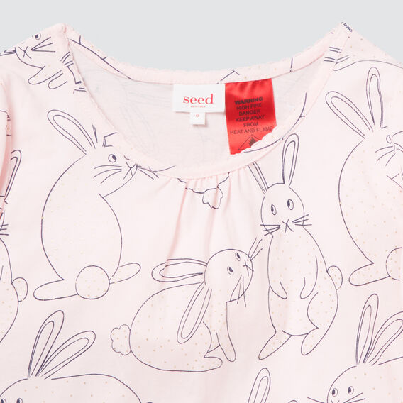 Bunny Nightie  ICE PINK  hi-res