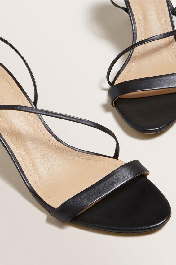 Meghan Heeled Sandal  BLACK  hi-res