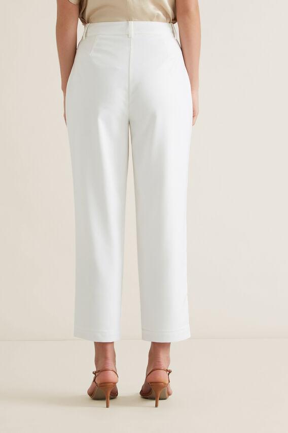 High Waisted Trouser  CLOUD CREAM  hi-res
