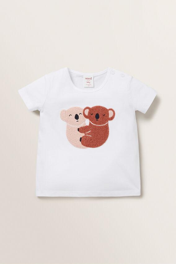 Koala Tee  WHITE  hi-res