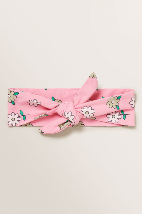 Floral Headband  PINK BLUSH  hi-res