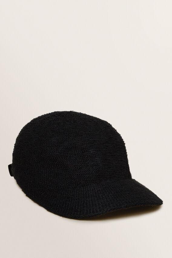 Monochrome Cap  BLACK  hi-res