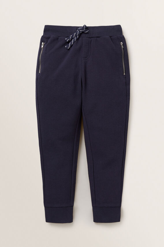 Pique Track Pant  MIDNIGHT BLUE  hi-res