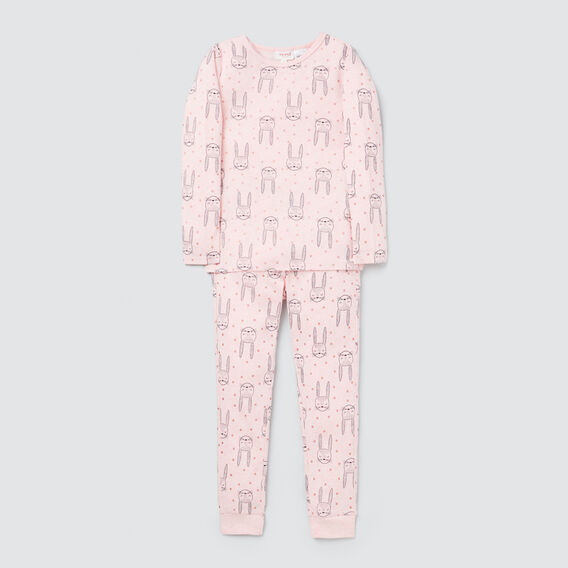 Bunny Spot Pyjamas  ICE PINK MARLE  hi-res