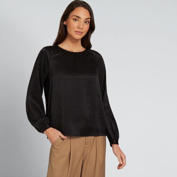 Luxe Blouse  BLACK  hi-res
