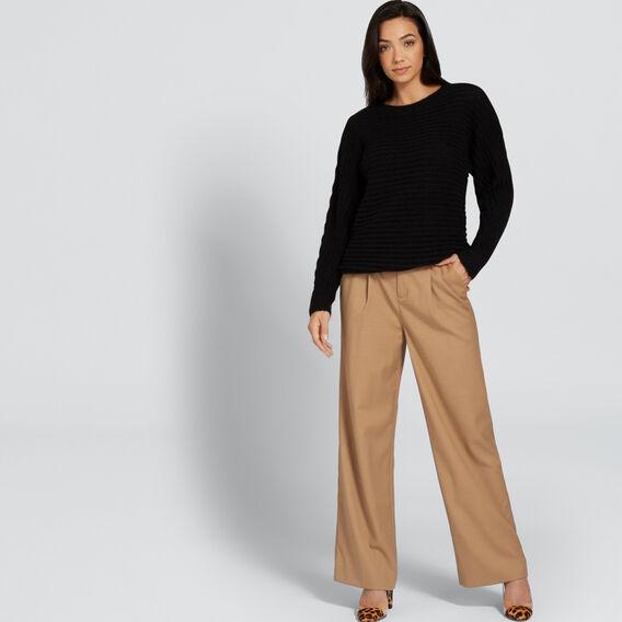 Luxe Mohair Blend Knit  BLACK  hi-res