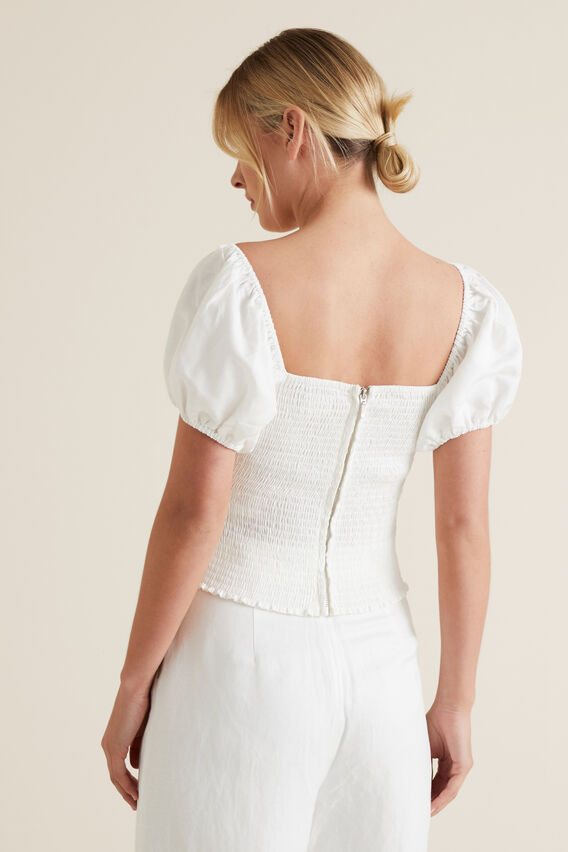 Off Shoulder Bodice  CLOUD CREAM  hi-res