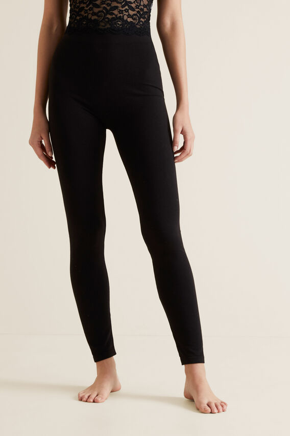 Seamless Legging  BLACK  hi-res