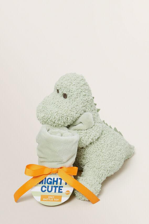 Dino Snuggle  GREEN  hi-res