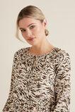 Resort Animal Print Dress  ANIMAL PRINT  hi-res