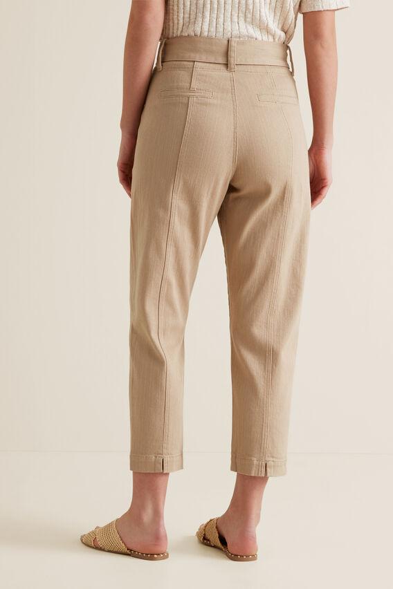 Slim Tie Up Pant  TUSCAN BROWN  hi-res