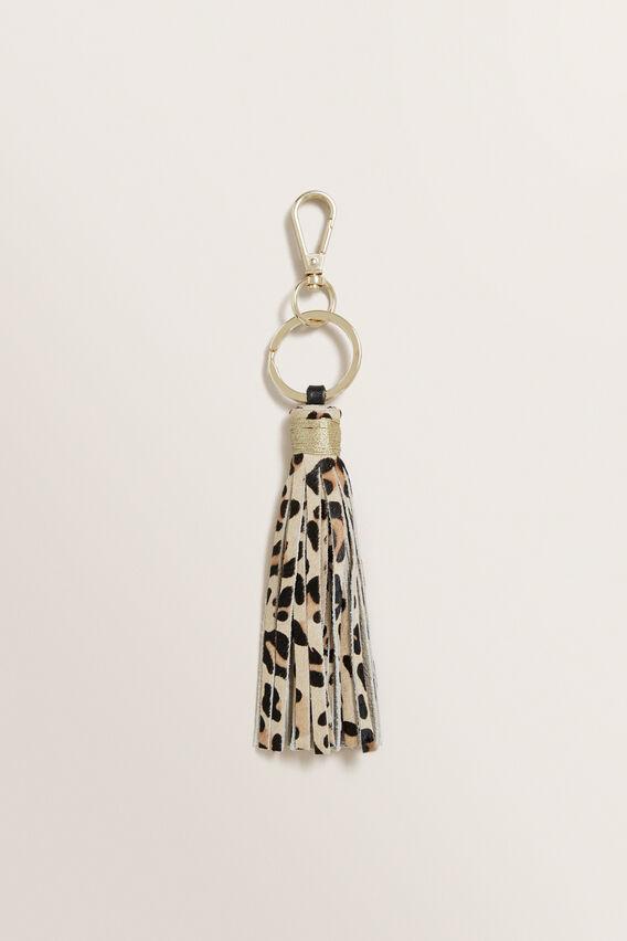 Leopard Tassel Keyring  OCELOT  hi-res