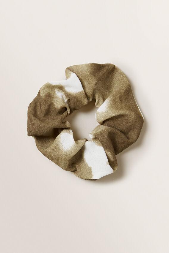 Tie Dye Scrunchie  RICH MOSS  hi-res