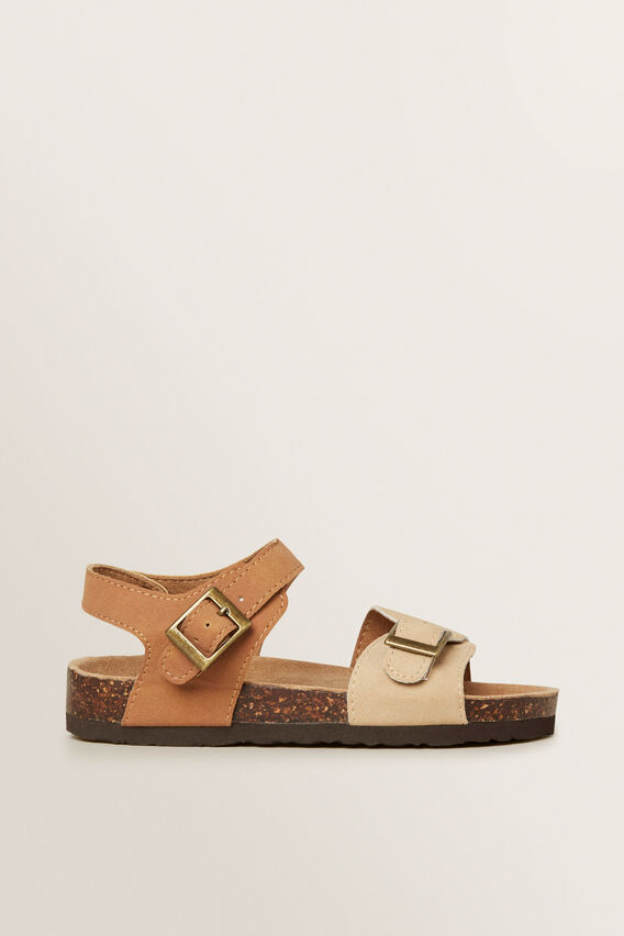 Two Tone Sandal  TAN  hi-res